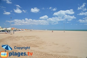 Beaches in Narbonne Plage