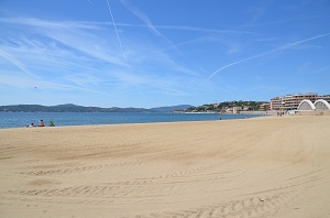 Beaches in Sainte Maxime