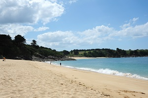 Beaches in Saint-Coulomb