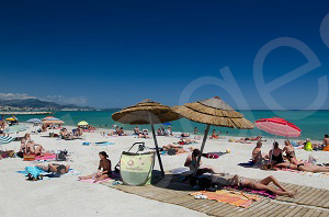 Beaches in Villeneuve-Loubet