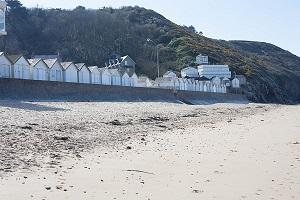 Beaches in Carolles