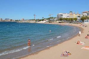 Beaches in Saint Raphael