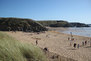 Beaches in Sauzon