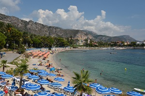 Beaches in Beaulieu-sur-Mer