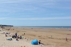 Beaches in Saint-Laurent-sur-Mer
