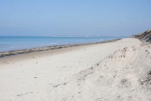 Beaches in Pirou