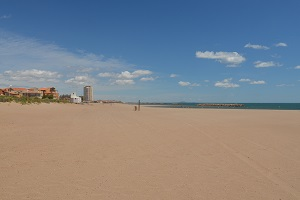 Beaches in Valras-Plage
