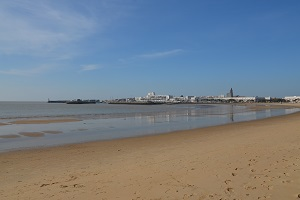 Beaches in Royan