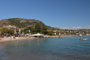 Beaches in Théoule-sur-Mer