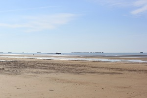 Beaches in Asnelles