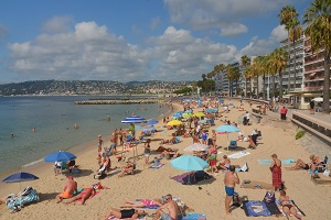 Beaches in Juan-les-Pins